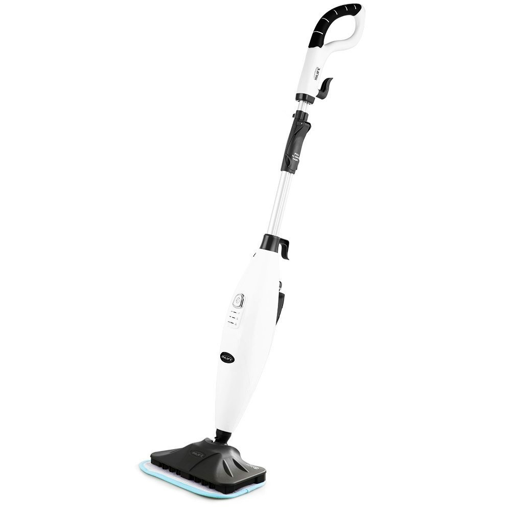 INLIFE Steam Mop Adjustable Steam 360 Degrees - Another good steam mop for hard floor