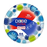 Dixie Ultra 8.5in Paper Plates, 64 Count