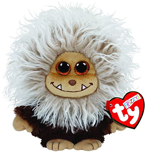 [y Frizzys Zinger Plush, Brown NEW Beanie Babies Boo Plush Toy Boos] (Homemade Ty Beanie Baby Costumes)