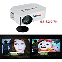 Taotaole Multi-media 150 Lumens Portable LED Projection Micro Projector