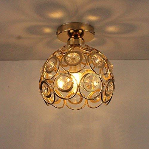 Eeayyygch Home Outdoor Beleuchtung Deckenleuchte Moderne American Style Eisen Retro Industrial Beleuchtung Korridor Lampen Warmes Licht 20 cm D (Farbe   -, Größe   -)
