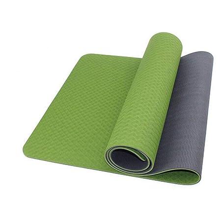 WZL Esterilla de Yoga Yoga Gimnasio Suministros Estera de ...
