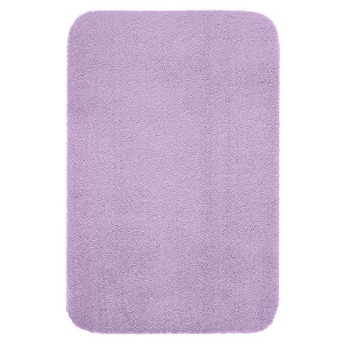 "Price comparison product image Maples Rugs Bathroom Rugs - Cloud Bath 30"" x 46"" Washable Non Slip Bath Mat [Made in USA] for Kitchen,  Shower,  and Bathroom,  Romantic Purple"