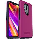 OtterBox Symmetry Series Case for LG G7 ThinQ - Retail Packaging - Mix Berry JAM (Baton Rouge/Maritime Blue)