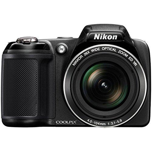 Nikon COOLPIX L320 16MP 720p HD Video Black Digital Camera