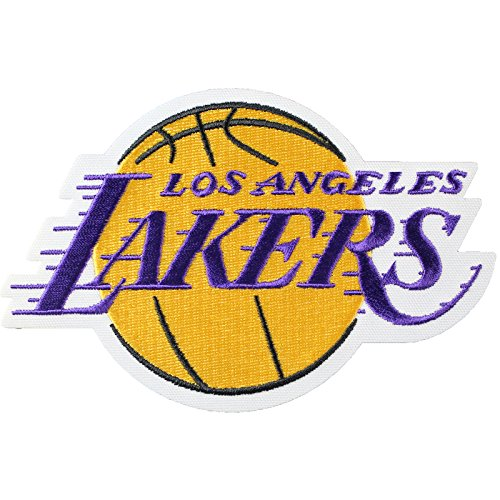 Official Los Angeles Lakers Logo Large Sticker Iron On NBA Basketball Patch Emblem by Patch Collection