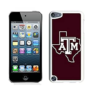 Customized Design Phone Case For iPod Touch 5 texas a m 02 Cell Phone Cover Case for Ipod Touch 5th Generation White