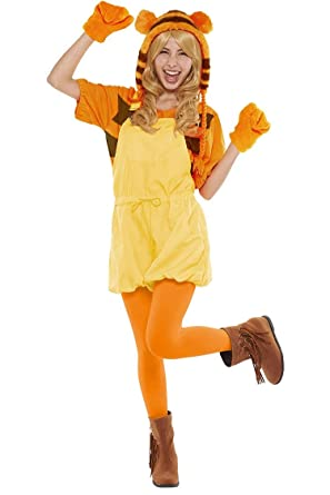 d9bc62d44561 Disney Winnie the Pooh Costume - Casual Pop Tigger Costume - Teen Women s  STD Size