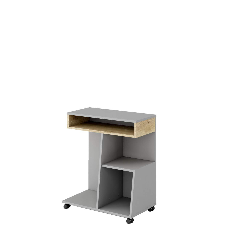 Furniture24-eu Zusatz für Schreibtisch Meet ME MT07 Rollen Regal