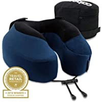 Cabeau Evolution(R), S3 Memory Foam Neck Travel Pillow Steel Indigo Blue