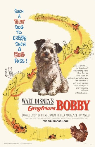 Greyfriars Bobby Movie Poster (11 x 17 Inches - 28cm x 44cm) (1961) Style A -(Donald Crisp)(Laurence Naismith)(Kay Walsh)
