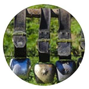 alfombrilla de ratón Cencerros en un Alm bávara - ronda - 20cm