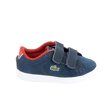 Chaussures De Sport À Faible Carnaby Bleu / Bleu Marine / Bleu Foncé Lacoste INgXf
