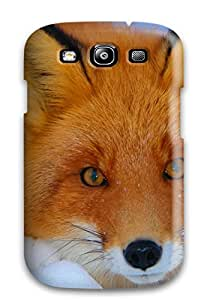 Lovers Gifts YZS7XY756E4Z8AWF Galaxy S3 Fox Print High Quality Tpu Gel Frame Case Cover