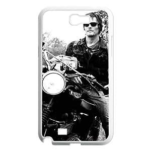 C-EUR Diy Phone Case The Walking Dead Pattern Hard Case For Samsung Galaxy Note 2 N7100