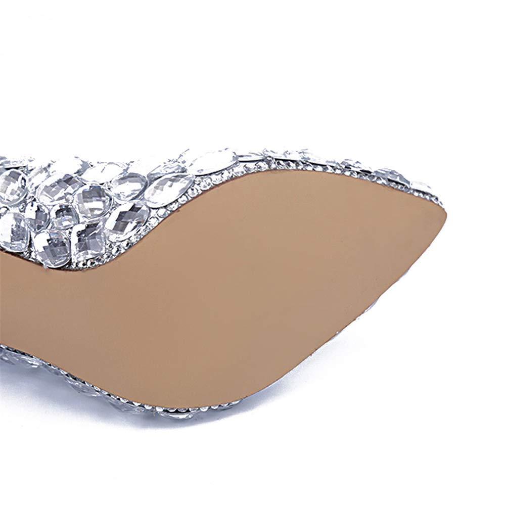 Zapatos de mujer Primavera Verano Comodidad Novedad Tacones Zapatos para  caminar Joyas Talón Brillante Brillo Talón Rhinestone Zapatos brillantes de  ... 000606fa2f11