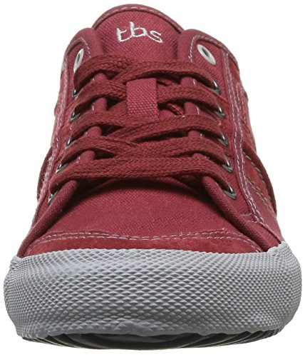 TBS Edgard, Men Hi-Top Sneakers Rouge (Synagot)