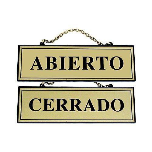 Rotulauto - Placa Abierto-Cerrado 110