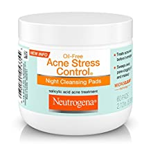 Neutrogena Acne Stress Control Night Cleansing Pads 60-Count