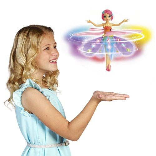 Deluxe Light Up Flutterbye Fairy - Rainbow by Flutterbye Fairy (Image #3)