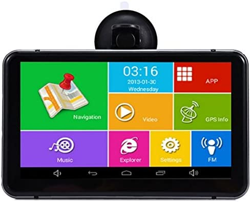 yuyitec 7 Inch Android coche GPS navegación Wifi FM coche DVR ...