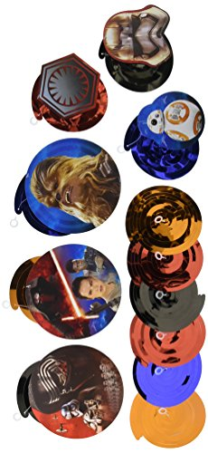 Star Wars Episode VII Value Pack Foil Swirl Decorations, Party Favor -