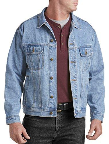 Wrangler Big and Tall Denim Jacket (3XL, Vintage Indigo)