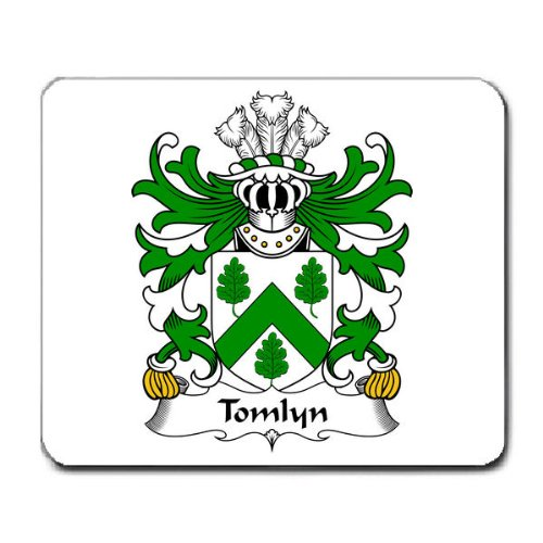 Tomlyn Family Crest Coat of Arms Mouse Pad
