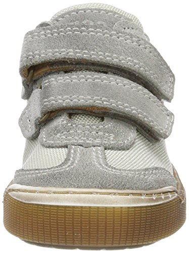 Bisgaard Unisex-Kinder Klettschuhe Low-Top Grau (Grey)