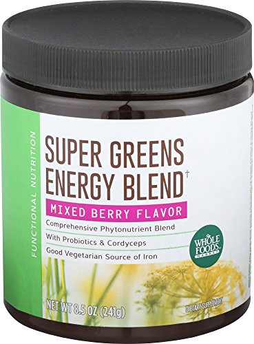 Whole Foods Market  Super Greens Energy Blend  8 5 Oz