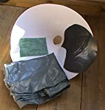 """Self watering Hanging basket liner kit, Fit to your own standard 14"""" dome basket and creates a substantial water reservoir..no more water running off the top as your new watering is from below, Magic...half the compost required,... twice the water available, half the effort of a similar sized standard basket."""