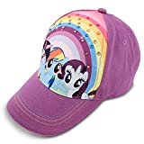 Hasbro Little Girls' Pony Baseball Cap, Purple Baseball Cap, Age 4-7