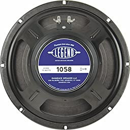 Eminence Legend 1058 10 '' Guitar Speaker, 75 Watts at 8 Ohms