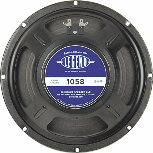 Eminence Legend 105 10in Guitar Spkr 75W 8 Ohm