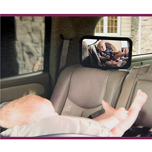 - Victoria-ACX - New Car Adjustable Back Seat Mirror Rear View Headrest Mount Baby Safety Mirror Interior Back Mirror Car Styling Mirror