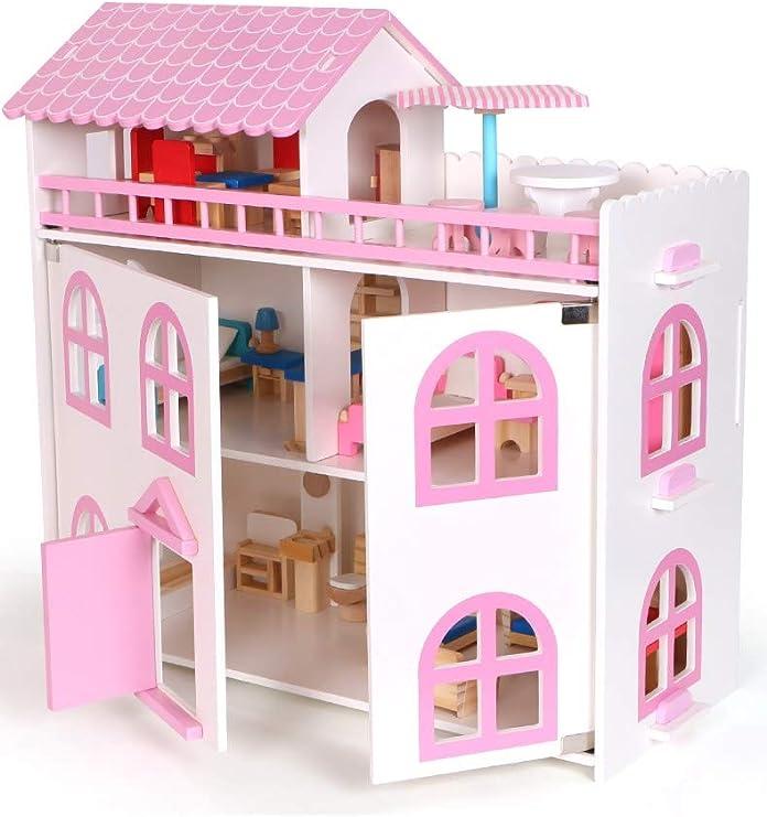 PLAYMOBIL Framed Picture Pink w// Princess Portrait Mansion Castle Dollhouse R3