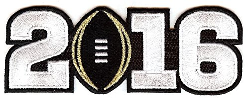 - Emblem Source The 2016 College Football Playoff National Championship Game Jersey Patch, Black