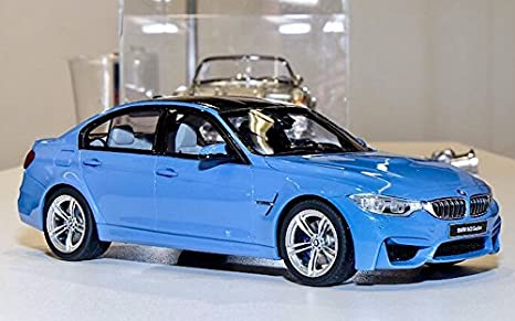 Amazon.com: BMW M3 (F80) Blue Limited Edition 1/18 by GT Spirit GT055: Toys & Games