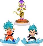 Dragon Ball Super Mini Figure - 3pcs Set [w/ Mini Items 1pcs]