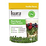 Kura Plant Based Vegan Protein Powder, Vanilla, New Zealand Born, 5.8oz