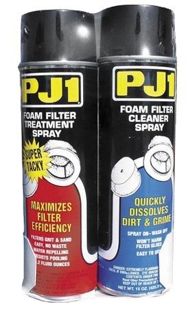 Cleaner Air Kit Classic (PJ1 15-202 Foam Filter Care Kit (Aerosol), 28 oz)