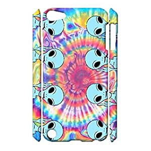 Universal 3D Hard Plastic Case Snap on iPod Touch 5th Generation,Pompous Visual Playing Cards Printed Phone Case for iPod Touch 5th Generation
