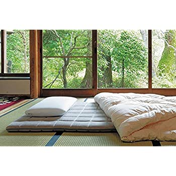 Image of Home and Kitchen airweave Futon - Luxury Japanese Bedding- for Floor Or As Mattress Topper (Cal King)