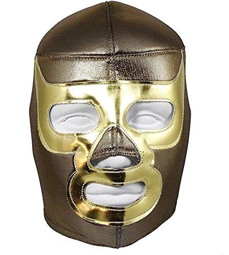Ramses Adult Costumes (Del Mex Lycra Lucha Libre Adult Luchador Mexican Wrestling Mask Costume (Ramses))