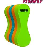 Maru Pull Buoy (Lime/Orange/Turquoise, Adult)
