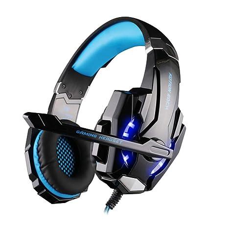 HOMECCLL Auriculares para Juegos, PS4 Auriculares para Juegos con ...