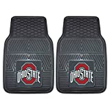 #10: FANMATS NCAA Ohio State University Buckeyes Vinyl Heavy Duty Car Mat