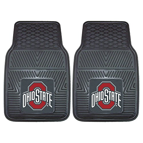 FANMATS NCAA Ohio State University Buckeyes Vinyl Heavy Duty Car Mat