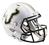 NCAA South Florida Bulls Full Size Speed Replica Helmet, Green, Medium