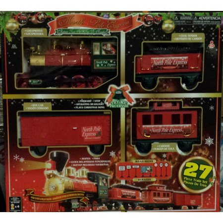North Pole Express Christmas Train Set, 27 (North Pole Express)